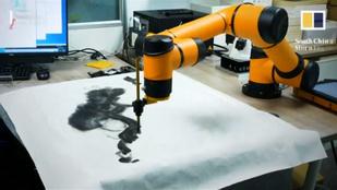 Elveszik a munkát? Itt a robot, ami megtanulta a hagyományos kínai festészetet