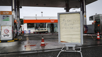 Kiürülhetnek a portugáliai benzinkutak a sztrájkoló teherautó-sofőrök miatt