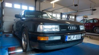 Totalcar Erőmérő: Audi Coupe Quattro 2.3 E