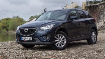 Használtteszt: Mazda CX-5 2,2 Skyactiv-D Cd150 Attraction At - 2014.