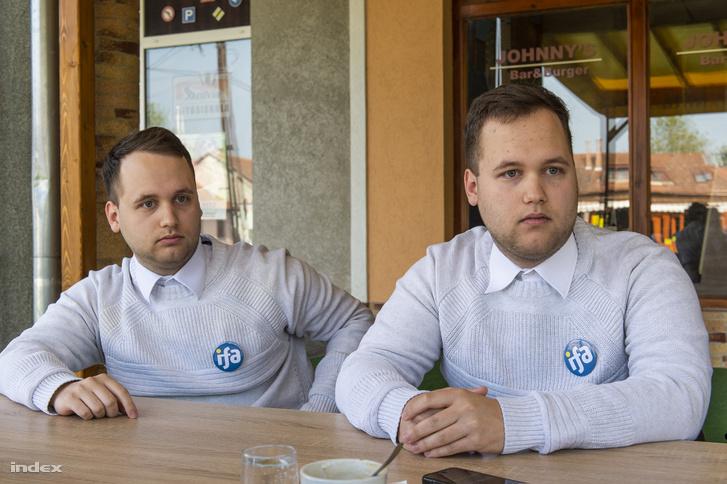 Vincze Álmos és Mátyás, az Ifjúság a Fejlődő Albertirsáért egyesület alapítói