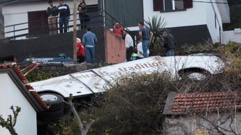 Buszbaleset Madeirán: korábban nem volt műszaki probléma az autóbusszal