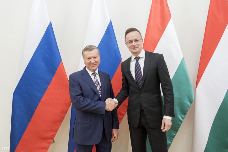 Viktor Zubkov és Szijjártó Péter