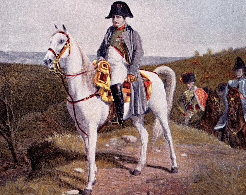 Jean-Louis-Ernest Meissonier festménye.