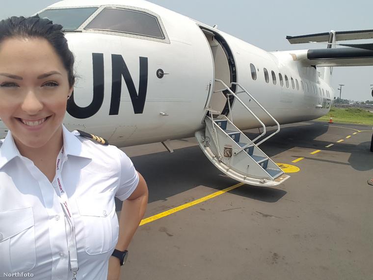 A 31 éves nő 8 éve szeli az eget és már privát pilótaként is dolgozik