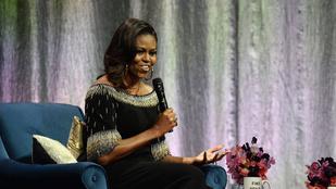 Két vezetéknévtelen gigasztár támadta le Michelle Obamát közös fotóért