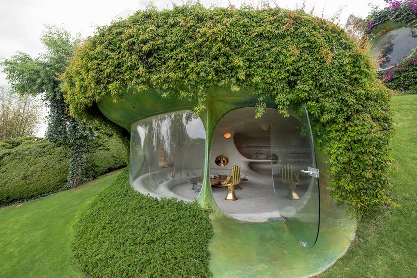 Így néz ki kívülről a hobbitház.