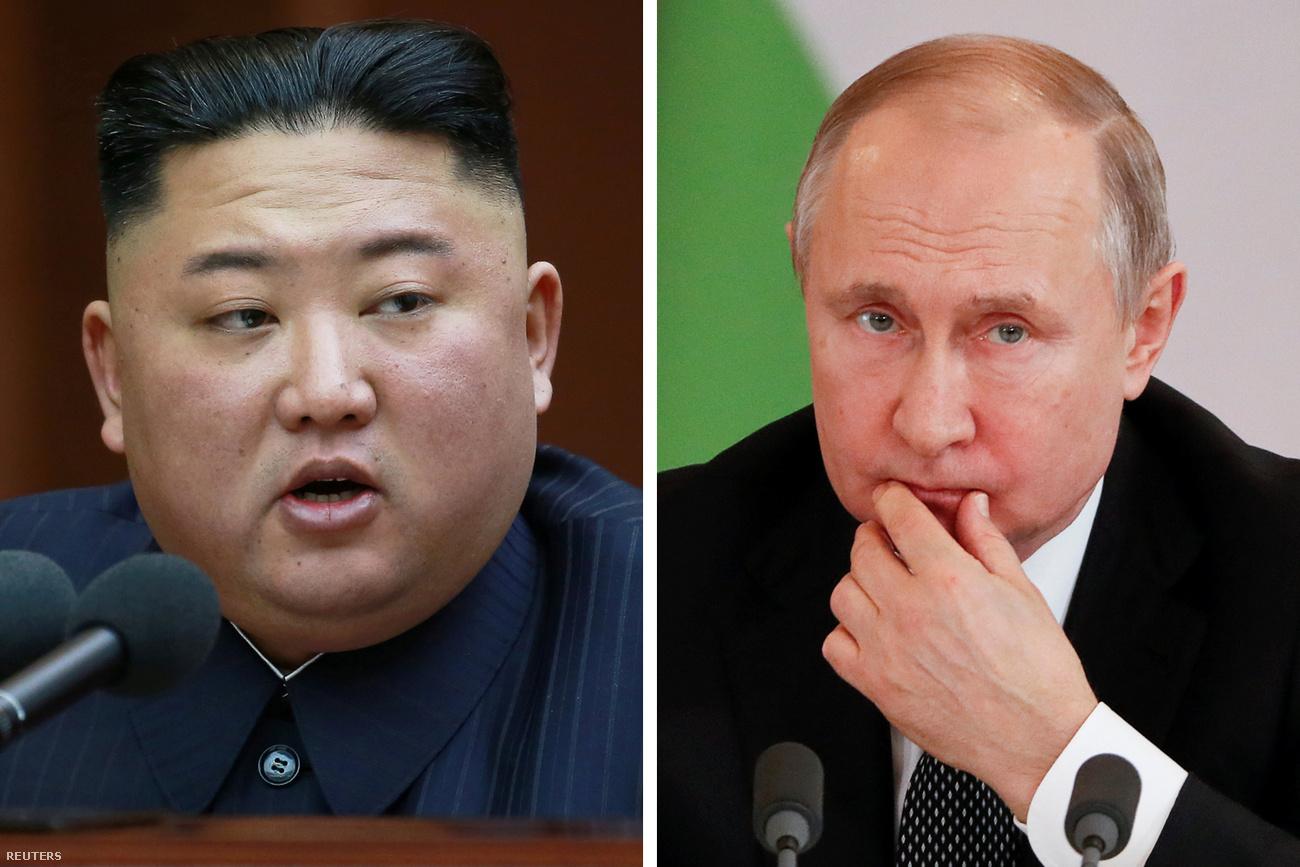 Áprilisban találkozik Kim Dzsongun és Putyin