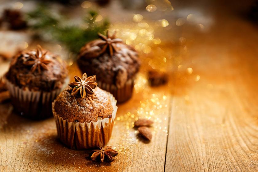 Karácsonyi gyümölcskenyérmuffin receptje: gyors, illatos és puha