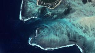 A világ legnagyobb vízesése a tenger alatt van