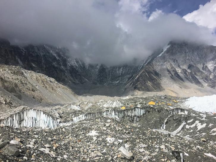 Az Everest alaptábor most