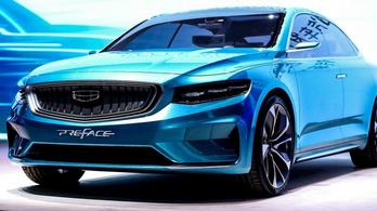 Geely Preface: akár Volvo S40 is lehetne