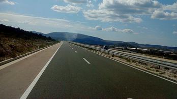 A horvát autópályákon is jön az átlagsebességes mérés
