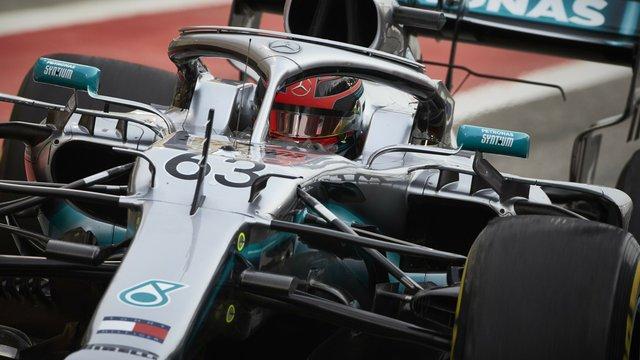 Russell: a Mercedes türelmesebb a Red Bullnál