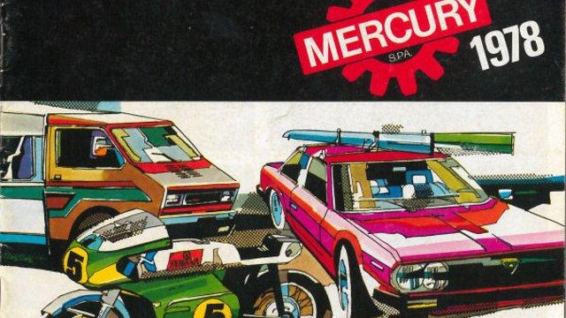 1978-as Mercury katalógus