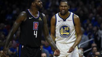 Turbómódra kapcsolt Durant és a Warriors