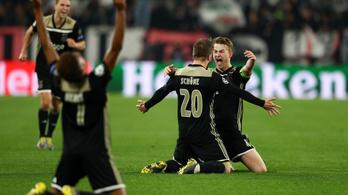 Hollandiában szinte nemzeti ünnep az Ajax BL-elődöntőbe jutása