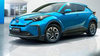 A Toyota első villanyautója pedig...