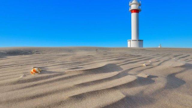 Far del Fangar: Világítótorony a semmi közepén