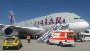 Ferihegyen kellett megszakítania az útját a Qatar Airways egyik járatának