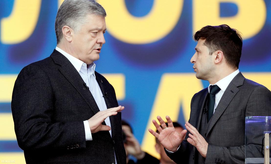 Ma dől el, ki lesz Ukrajna elnöke: Porosenko vagy Zelenszkij