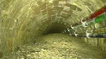 Rekordméretű betontömböt találtak a londoni csatornában