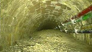 Rekordméretű betontömböt találtak a londoni szennyvízcsatornában