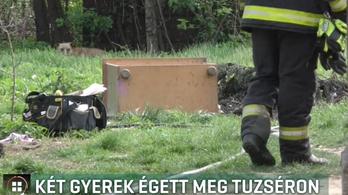 Két gyerek égett meg, amikor felrobbant mellettük egy purhabos flakon Tuzséron