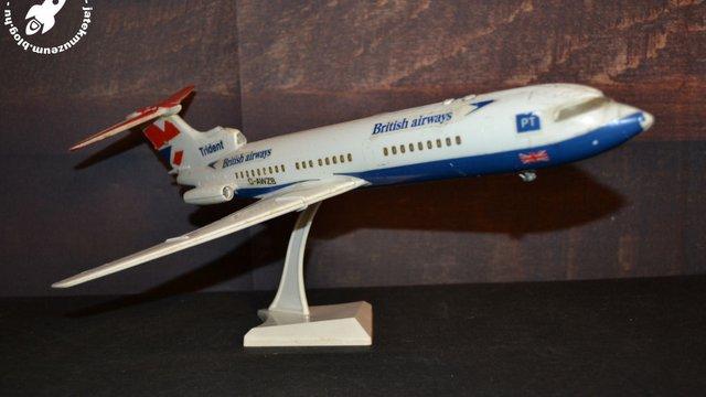 Ilyen egy régi NDK makett repülőgép