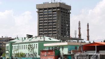 Robbantás és lövöldözés volt egy kabuli kormányhivatal mellett