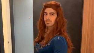 Joe Jonas nőnek öltözött a Trónok harca tiszteletére