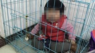 Ketrecbe zárt kisbaba miatt nyomoznak a kínai hatóságok
