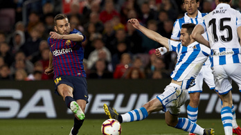 A balhátvéd góljával nyert a Barcelona