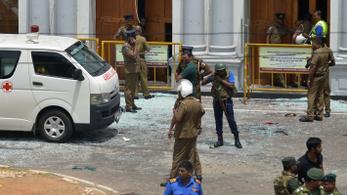 Robbantássorozat Srí Lankán, kijárási tilalmat rendeltek el