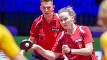Megvan az első magyar győzelem a pingpong-vb-n