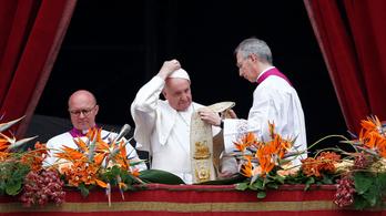 Fegyverletételre szólított fel Ferenc pápa