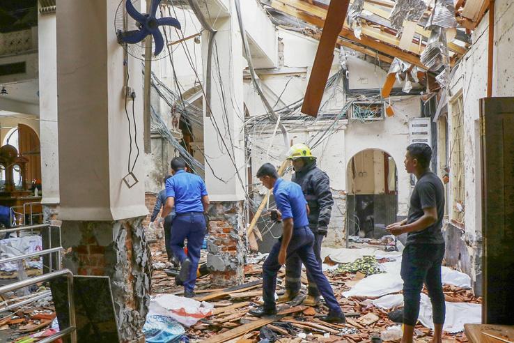 A Szent Antal templomnál történt az egyik robbantás.