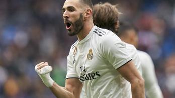 A Real Madrid győzelmét Benzema és a bakiparádézó bilbaói kapus szállította