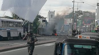 Kisebb robbanás volt Srí Lankán egy templomnál