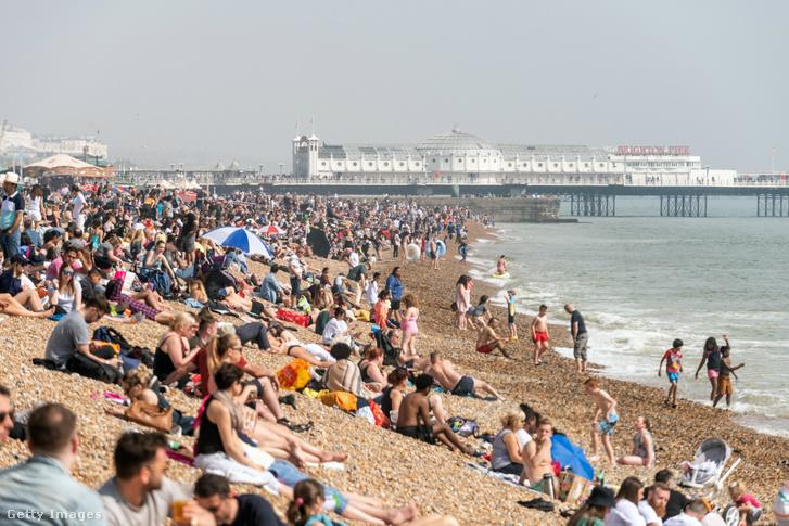 Húsvéthétfő Brightonban