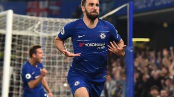 A Chelsea két perc alatt két gólt lőtt, de csak ikszelni tudott
