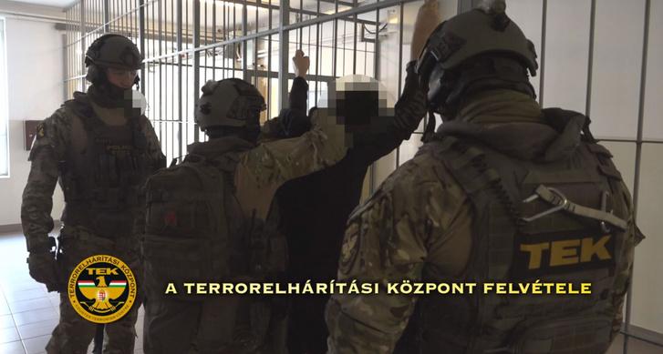 Hasszán F. letartóztatása