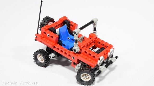 Retró Lego terepjáró