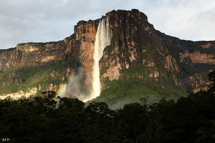 Bolívarban lévő Kerepakupai Merú