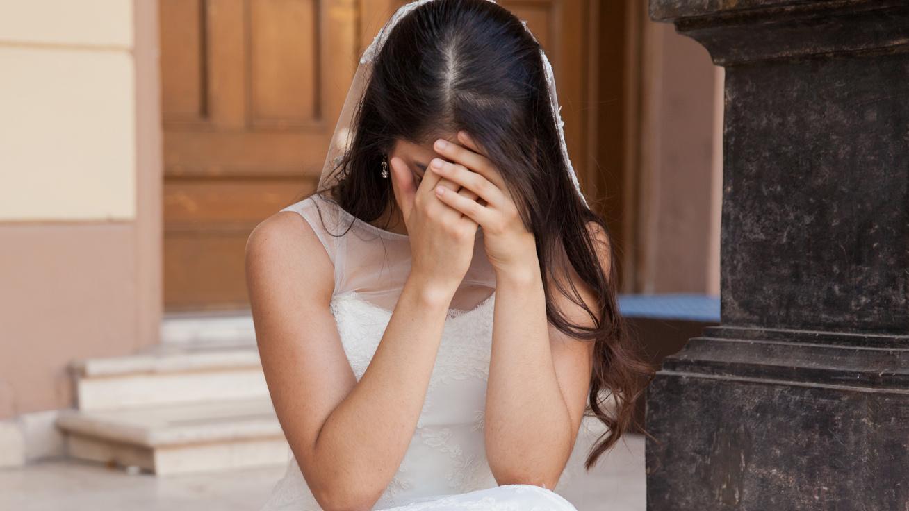 szomoru menyasszony