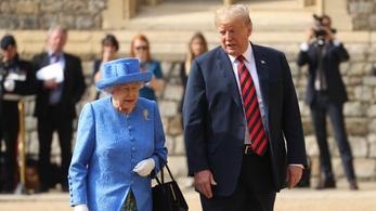 Donald Trump meglátogatja az angol királynőt