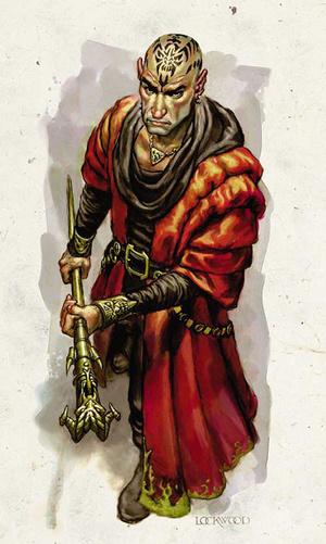 Íme Kossuth odaadó híve: Thay egyik Vörös Varázslója az AD&D szabálykönyvből