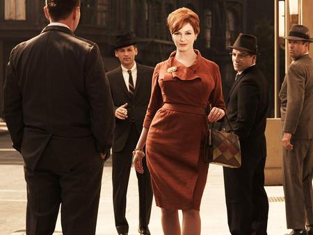 Christina Hendricks a Mad Men - Reklámőrültekben Joan Holloway szerepét alakítja