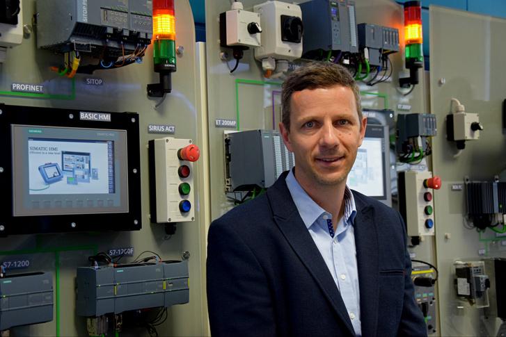 Jeránek Tamás, a Siemens digitális gyártásért felelős vezetője