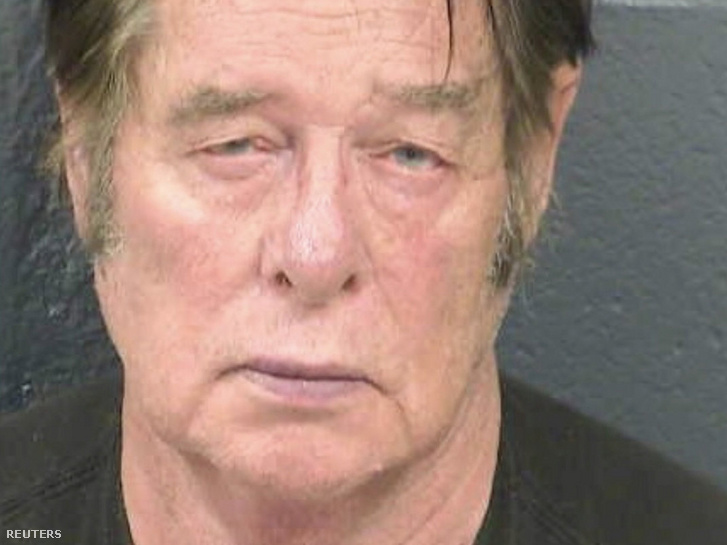 Larry Hopkinsról készült kép a letartóztatása után 2019. április 20-án
